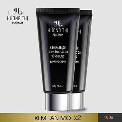Combo 2 Hộp Kem massage tan mỡ Hương Thị Slimming Cream 120g