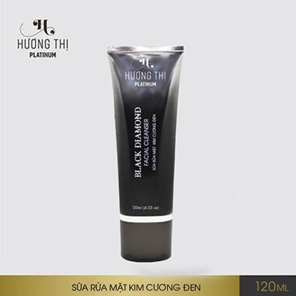 Sữa rửa mặt kim cương đen Hương Thị Black Diamond Facial Cleanser 120ml